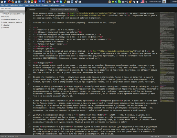 Sublime Text 2 FAQSublime Text 2 FAQ