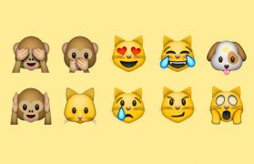 Interpretation von Emoji-Emoticons